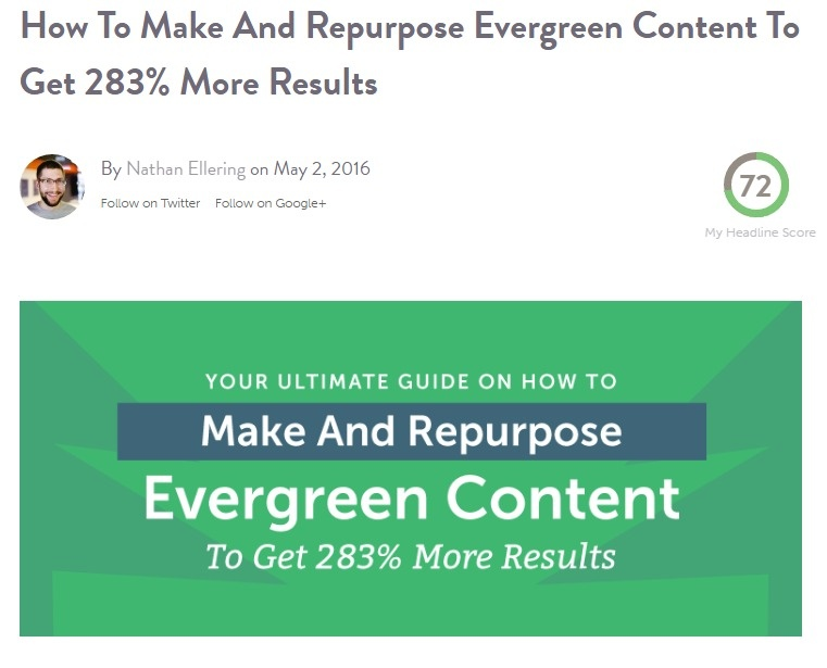 How To Keep Evergreen Content Fresh For 283  More Traffic